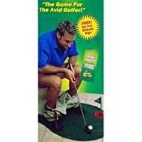 Potty Putter Putting Mat Golf Game [Misc.]