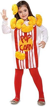 Disfraz de Pop Corn o Palomitas para niña: Amazon.es: Juguetes y ...