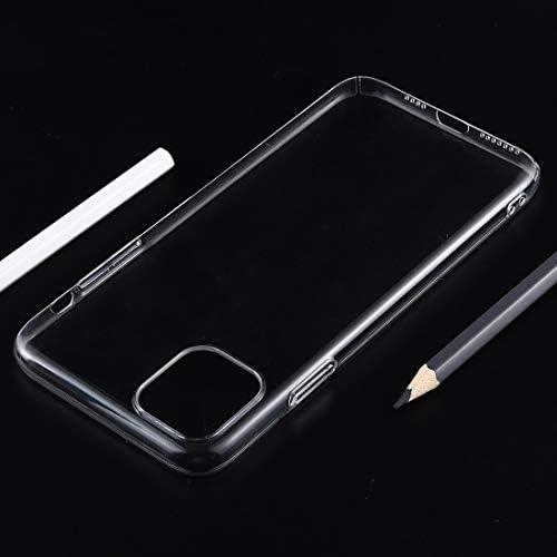 Voor de iPhone 11 case Shockproof PC beschermhoes for de iPhone 11 Pro transparant Asun ColorTransparent
