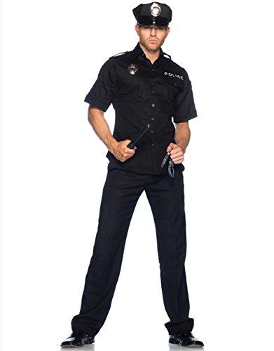 【新作からSALEアイテム等お得な商品満載】 LEG AVENUE レッグアベニュー ポリス 警察 LEG 4点セット 4点セット MEN'S 男性 M M/Lサイズ/Lサイズ 83122 M/L B00L0U2GSS, ヴィアグループネットショップ:1f8ab1b8 --- a0267596.xsph.ru