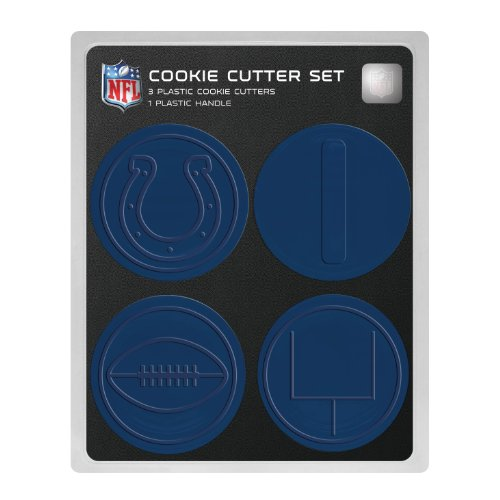 NFL Indianapolis Colts Officially Licensed Set of Cookie Cutters