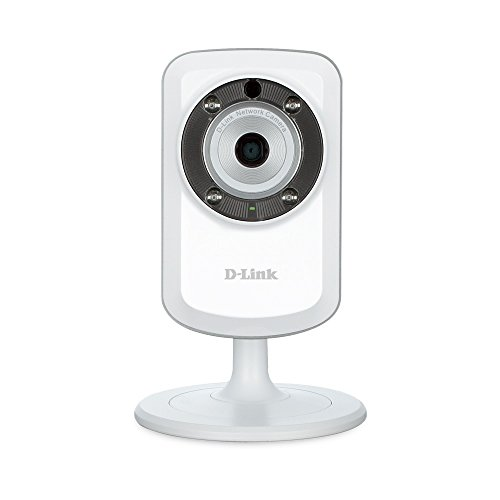 D-Link DCS-933L Day & Night Wi-Fi Security Camera with Sound and Motion Detector (Certified Refurbished) -