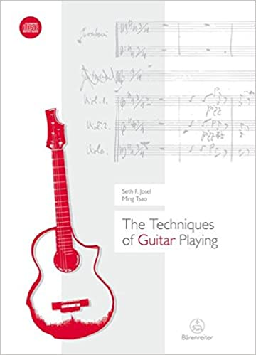 The Techniques of Guitar Playing Mit CD