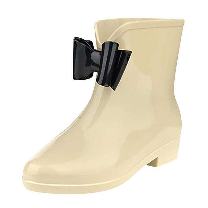 Stivali di Gomma Donna YU'TING ☀‿☀ Stivali di Gomma alla