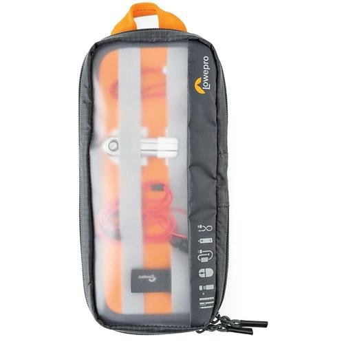 Lowepro GearUp Pouch for Electronic Devices, Cables, Adapters and Chargers, Medium ()