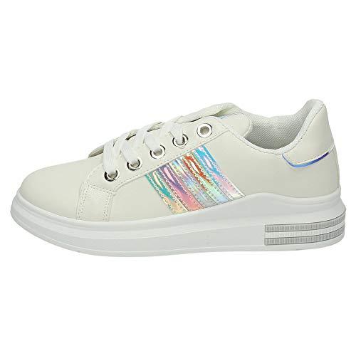 Demax 180 Femme Blanc Chaussures Byh xRzxXg