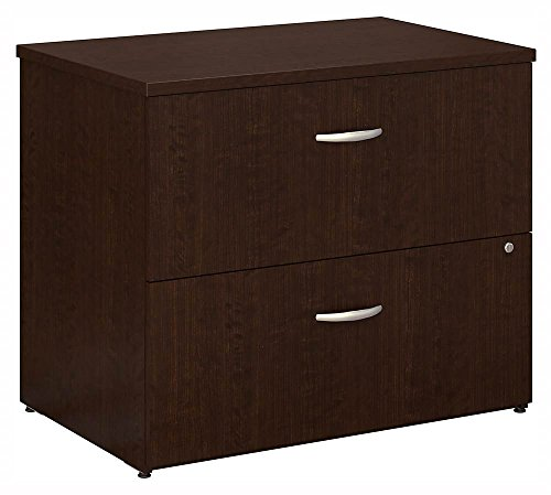 Bush Business Furniture Series C 36W 2 Drawer Lateral File in Mocha ()