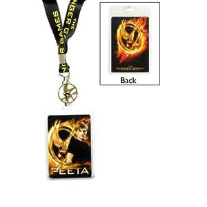 """The Hunger Games Movie Lanyard """"Peeta w/Pin"""""""