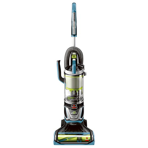 (Bissell Pet Hair Eraser Lift Off Bagless Upright Vacuum, Blue)