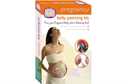 Pregnancy BELLY PAINTING KIT - Safe for Skin Nontoxic Face Paints