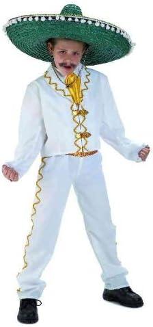 Disfraz Mejicano Lujo Infantil T. 4: Amazon.es: Juguetes y juegos