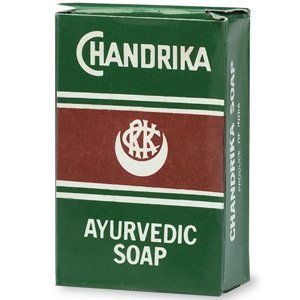 Chandrika Ayurvedic Bar Soap 2.64 oz (pack of (Chandrika Sandalwood Soap)