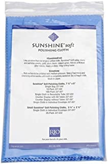3 Individually Packaged and Sealed Sunshine Blue Soft Polishing Cloth Jewelry Polisher Brass Gold Silver