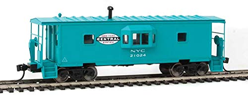 Walthers HO Scale International Bay Window Caboose New York Central/NYC - New York Caboose Central