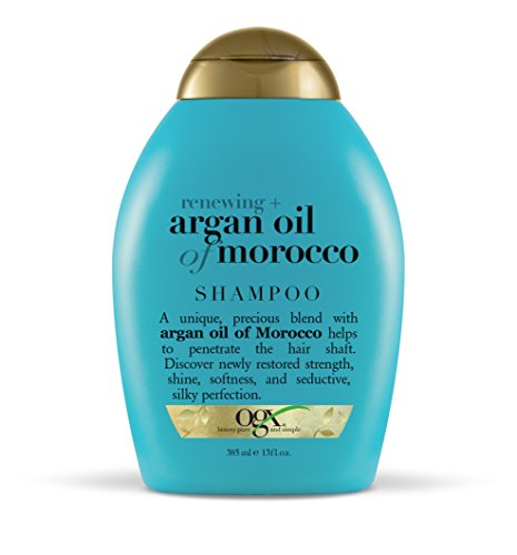 OGX Renewing + Argan Oil of Morocco Hydrating Hair Shampoo, Cold-Pressed Argan Oil to Help Moisturize, Soften…