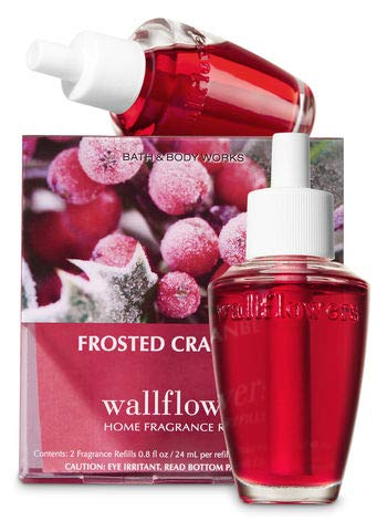 Bath & Body Works White Barn Wallflower Home Fragrance Refills FROSTED CRANBERRY