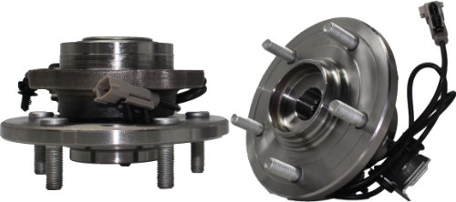 Brand New (Both) Front Wheel Hub and Bearing Assembly 2004-06 Chrysler Pacifica 5 Lug W/ ABS (Pair) 513201 x2