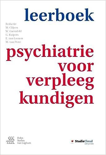 Téléchargement De Manuels Gratuits En Pdf Leerboek Psychiatrie Voor