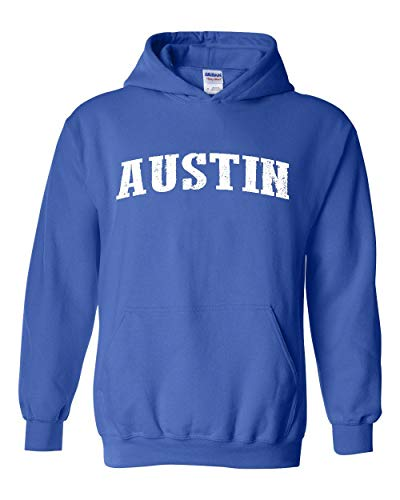Mom`s Favorite Texas State Flag Proud Texan Austin Traveler`s Gift Unisex Hoodie (LRB) Royal Blue