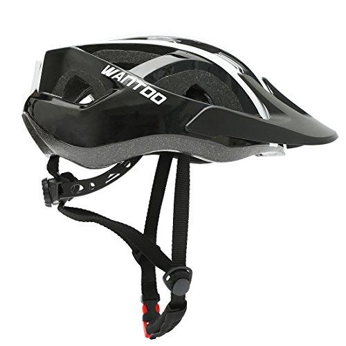 [해외]Wantdo 자전거 헬멧 챙 있는 머리 방어 초경량 조절 일체형 EPS 충격 흡수안전통근통 학자전거스포츠 헬멧 성인용 / Wantdo bike helmet with visor head protect ultra-light adjustable integrated EPS shock absorbingsafetycommutingcommutingcy...