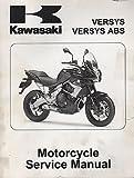 2010 KAWASAKI MOTORCYCLE VERSYS ABS SERVICE MANUAL P/N 99924-1435-31 (553)