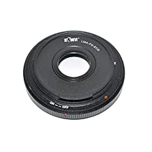 Kiwifotos Lens Mount Adapter - Canon FD Lens to Canon EOS (EF, EF-S) Mount SLR Camera (E.g. Canon EOS Rebel T7i/T6s/T6i/T5i/T4i/T3i/T2i/SL1, EOS 5D Mark IV III II/6D/7D/7D Mark II/70D/77D/80D)