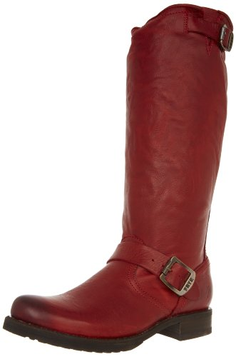 Leather Slouch 76602 Burnt Soft Veronica Frye Boots Womens Vintage Red 8qwS5P
