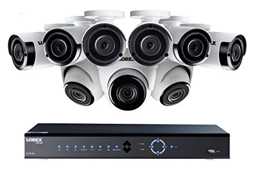 3 Channel Video (Lorex 4K 16-Channel 3TB Ultra HD IP NVR System with Nine 2K 4MP IP Cameras, 130 FT Night Vision)