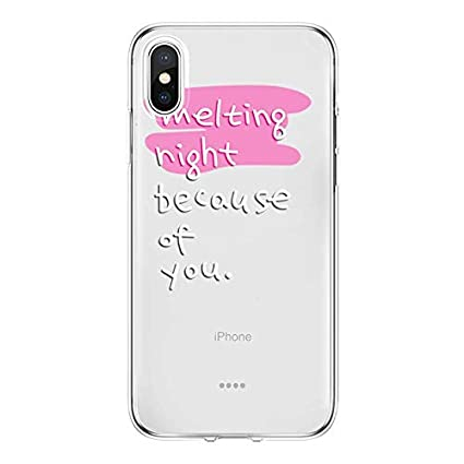 Amazon.com: for Letter Fundas iPhone Xs Max XR 5 SE 6 S 7 8 ...
