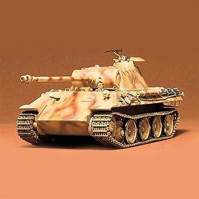 Tamiya America, Inc 1/35 German Panther Tank, TAM35065: Toys & Games