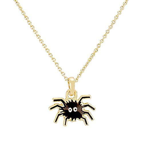 Rosemarie Collections Women's Little Spider Halloween Charm Necklace