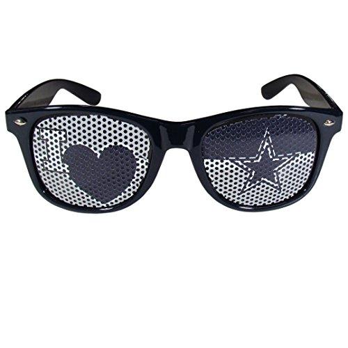 Siskiyou NFL Dallas Cowboys I Heart Game Day Shades, Navy Blue, Adult