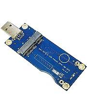 Mini PCI-E to USB Adapter with SIM Card Slot for WWAN/LTE Module (Industrial-Grade)