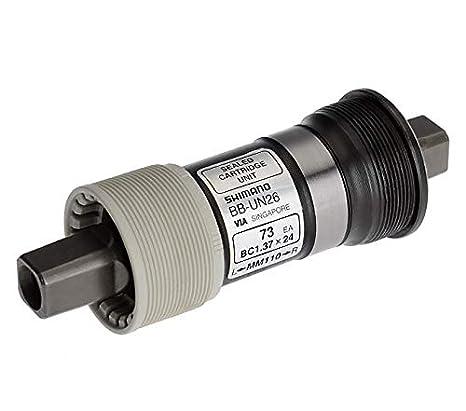 cf320749f53 Amazon.com : SHIMANO BB-UN26 73mm BSA bottom bracket without Crankscrews ( Length: 110 mm) : Bottom Bike Brackets And Accessories : Sports & Outdoors
