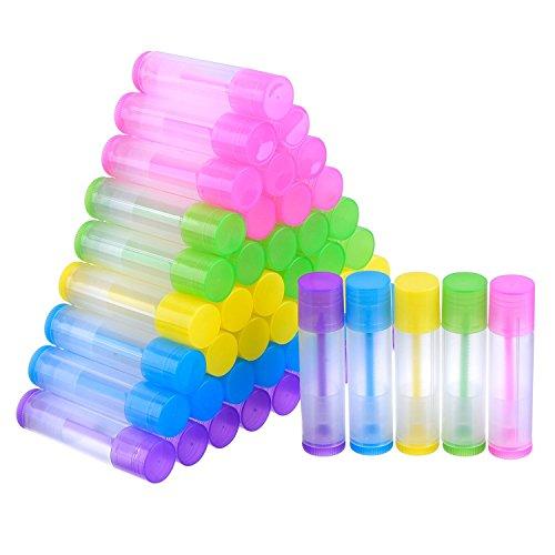 Blue Lip Balm Tubes - 5