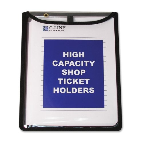 C-Line High Capacity, Shop Ticket Holders, Stitched, 150 inch, 9 x 12, 15/BX