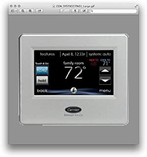 Carrier Infinity SYSTXCCITN01 Thermostat Touch Control