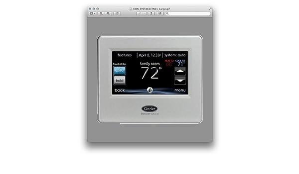 Carrier infinity systxccitn01 termostato Control táctil: Amazon.es: Bricolaje y herramientas