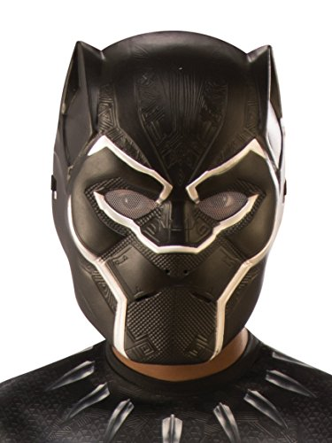 Panther Face (Marvel Black Panther Child's Half-Mask)