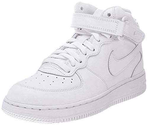 air force 1 white mid top