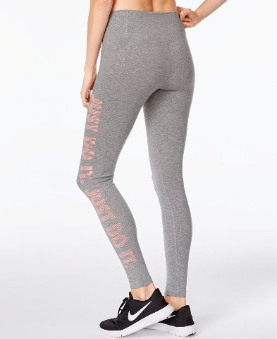 Nike Women's Dry Do It Athletic Training Tights, Gray, X-Small