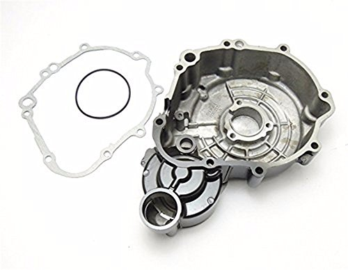 HTT- For Suzuki GSXR 600/750 2006-2013 Engine Stator cover BLACK Left w/ Gasket by HTTMT (Image #1)'