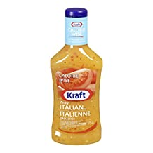 KRAFT Calorie Wise Zesty Italian Dressing, 475ml