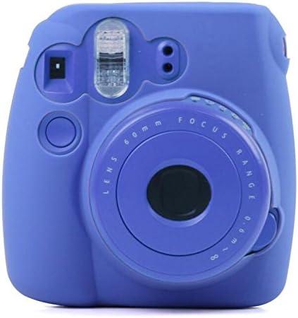 Hihouse Coque Camera en silicone Shell Sac protecteur pour Fujifilm Instax Mini 8/Mini 9