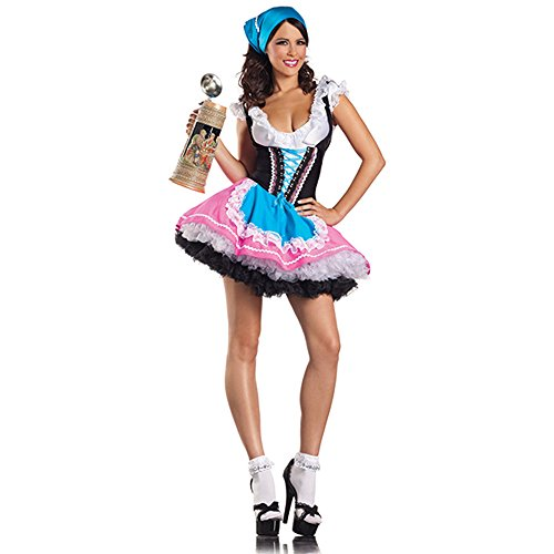 [Sexy Beer Girl Adult Costume - Small/Medium] (Gretel Sexy Adult Costumes)