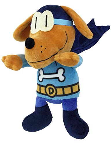 Dog 9 Inch Plush Stuffed Animal - MerryMakers Dog Man Bark Knight Doll, 9-Inch