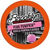 Brooklyn Beans Pink Pumpkin Coffee Pods for Keurig K Cups Coffee Maker, 40 Count
