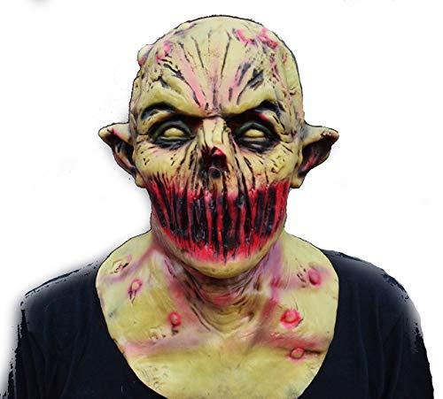 Acid Tactical Scary Creepy Halloween Latex Zombie Demon Deadly Silence Mask