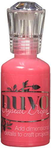 TONIC STUDIOS Nuvo Crystal Drops 1.1Oz-Gloss-Red Berry, Gloss/Red Berry