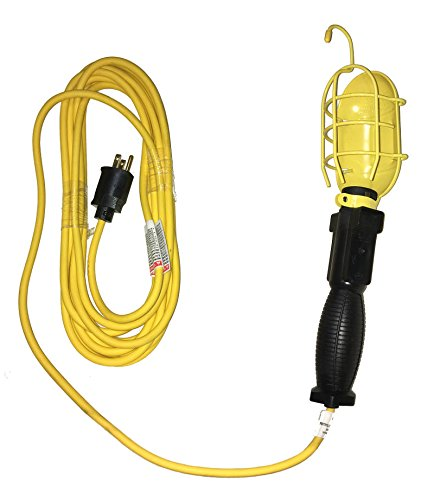 Metal Halide Combo - Coleman 05337 Polar/Solar Trouble Light With 25 Foot 18/3 Yellow Cord Grounded SJEOW